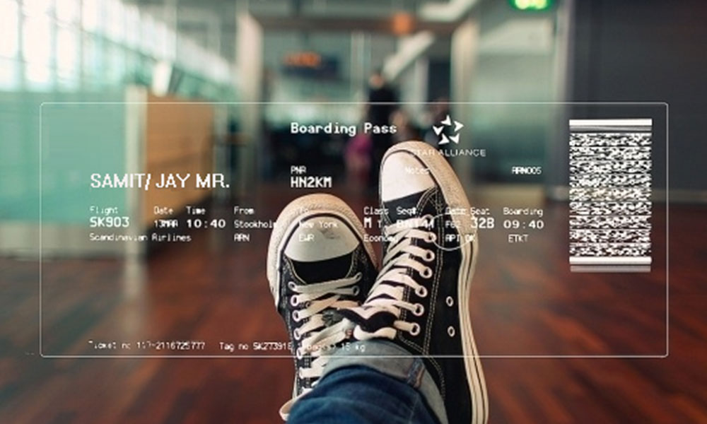 Augmented-boarding-pass