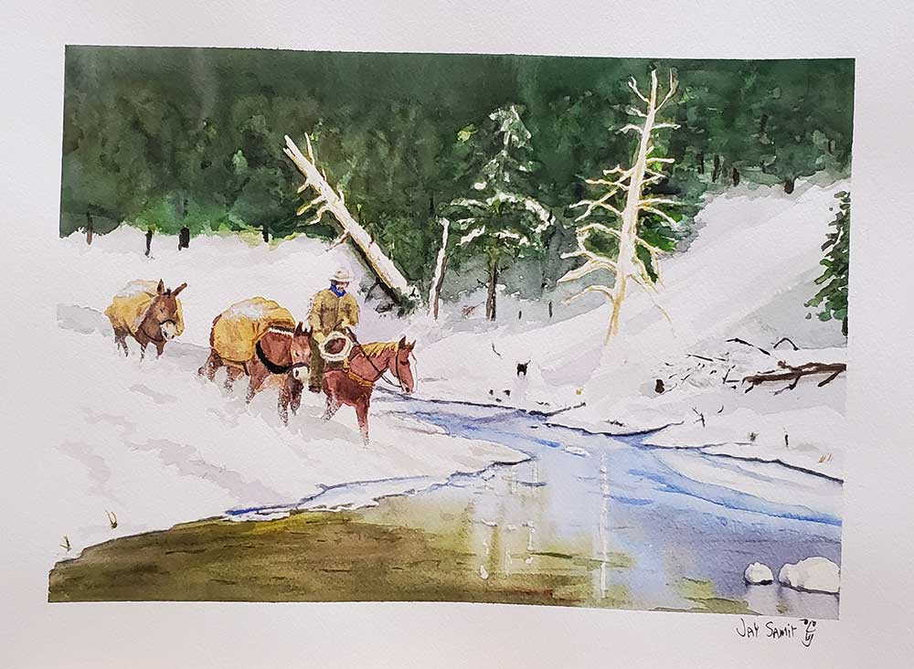 Fording-a-River-in-Winter