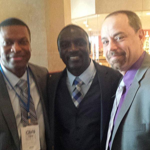 Jay Samit - Akon and Chris Tucker