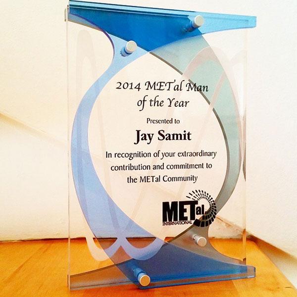 Jay Samit METal-Man of the Year