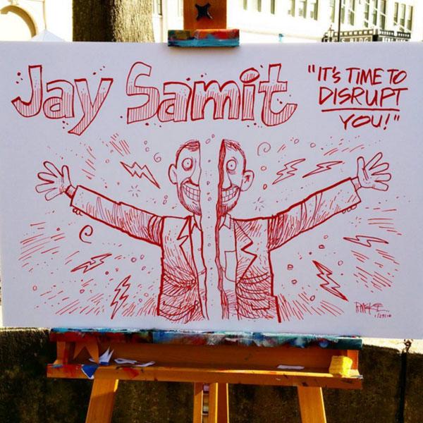 Jay Samit - Rick McKee Cartoon