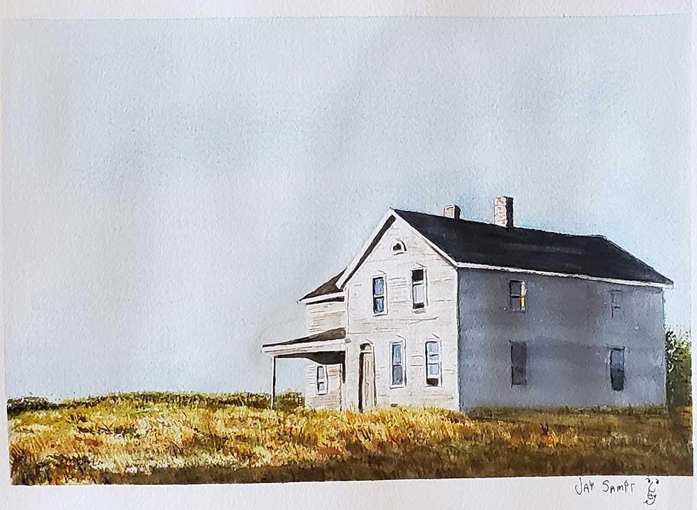 Kansas-Farmhouse